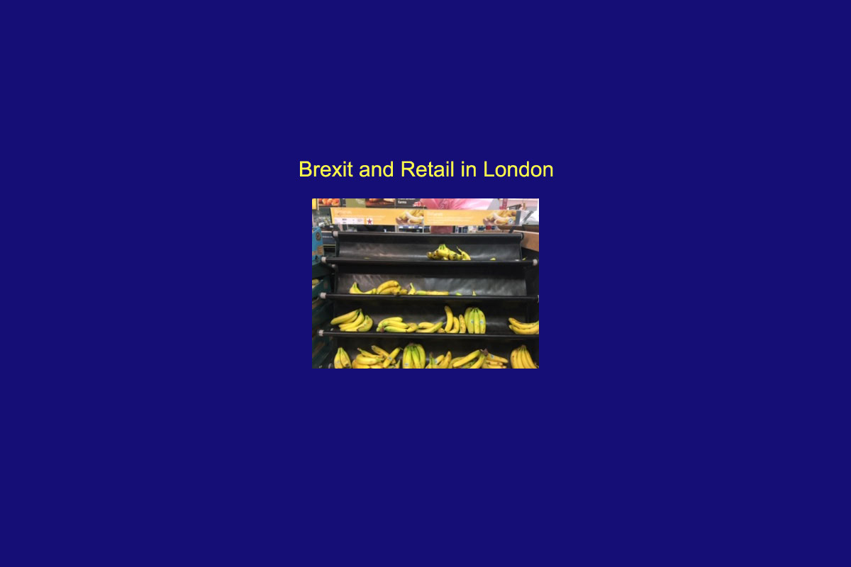 Brexit and retail in London